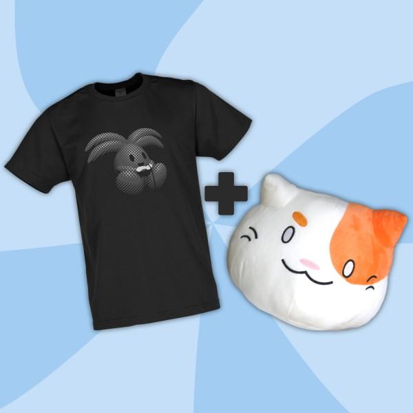 SambZockt Shirt und B-Ware BlobCat Plüsch Bundle